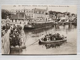 Trouville. Le Bateau Du Hâvre Et Le Bac - Trouville