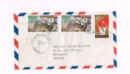 Lettre De La Trinidad à GRivegnée (Belgique) - Philippines