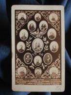 Photo CDV Anonyme - état Major Prussien 1866 L437 - Anciennes (Av. 1900)