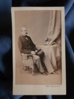Photo CDV L. Haase & Comp In Berlin - Otto Von Bismarck Circa 1865 L437 - Antiche (ante 1900)