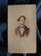 Photo CDV Linde In Berlin - Louis II De Bavière Circa 1860 L437 - Old (before 1900)