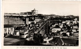 Porto - Ponte D. Luis - Tramway - 1964 - Porto