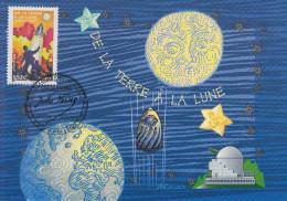 Carte  Maximum  1er  Jour  Les  Voyages  Extraordinaires   JULES   VERNE   2005 - Maximumkarten