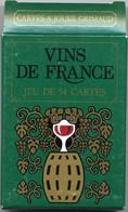 Vins De France Jeu De 54 Cartes - 54 Cartes