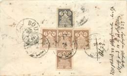 Afghanistan -Deux Dos De Lettres Timbrées 1893 Et 1895 - Afghanistan