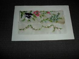 Carte Brodée ( 12 )  Geborduurde Kaart  Carte Enveloppe - Brodées