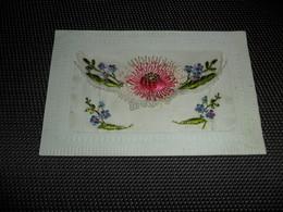 Carte Brodée ( 16 )  Geborduurde Kaart  Carte Enveloppe - Brodées