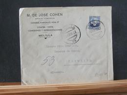 79/837A  LETTRE  ESPAGNE POUR ALLEMAGNE 1936 - 1931-Tegenwoordig: 2de Rep. - ...Juan Carlos I