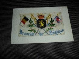 Carte Brodée ( 33 )  Geborduurde Kaart  Carte Enveloppe - Borduurwerk