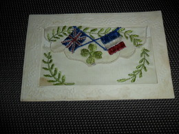 Carte Brodée ( 35 )  Geborduurde Kaart  Carte Enveloppe - Brodées