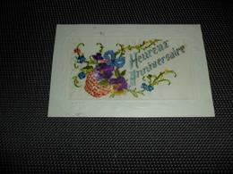 Carte Brodée ( 37 )  Geborduurde Kaart - Embroidered