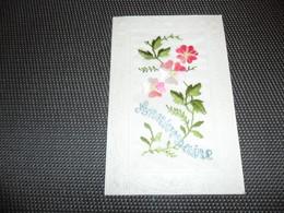 Carte Brodée ( 38 )  Geborduurde Kaart - Embroidered