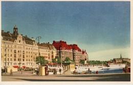 SVEZIA-STOCCOLMA-NYBROVIKEN-1953 - Svezia