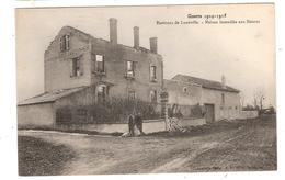CPA Mossus Environs De Luneville Maisons Incendiées Guerre 1914 1918 54 Meurthe Et Moselle - Autres Communes