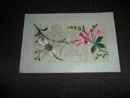 Carte Brodée ( 43 )  Geborduurde Kaart - Embroidered
