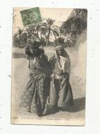 Cp , De BIZERTE , TUNISIE ,scénes Et Types ,femmes Nomades , écrite 1911 - Tunisie