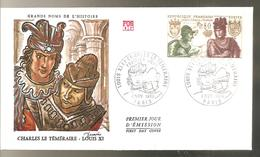 FDC  1969 CHARLES LE TEMERAIRE - FDC