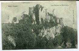 CPA - Carte Postale - Belgique - Falaën - Les Ruines De Montaigle - 1909 (M7968) - Onhaye