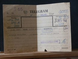79/858A  TELEGRAM  1982 - 1944-.... República