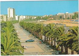 Salou: CITROËN DS, PEUGEOT 504 - Paseo Jaime I - (Costa Dorada, Espana/Spain) - Turismo