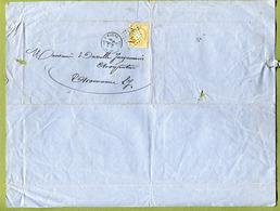 "JOINVILLE  (52) : "" VINS & SPIRITUEUX - Vve DECLUY-DURAND ""  1873 - France"