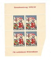 BLOC NEUF ** ARMEE SUISSE WW2 VIGNETTE ERINNOPHILIE Cinderella Stamp /FREE SHIP. R - Military Post