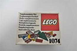 LEGO - 1074 Supplementary Box -very Rare - Original Box - Original Lego 1976 - Vintage - Catalogs