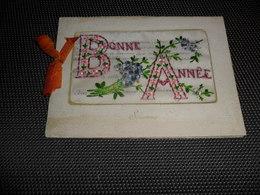 Carte Brodée ( 59 )  Geborduurde Kaart  ( Pas Une Carte Postale , Carte De Voeux ) - Embroidered
