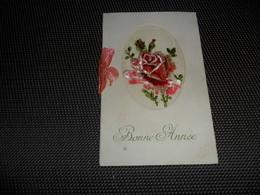 Carte Brodée ( 61 )  Geborduurde Kaart  ( Pas Une Carte Postale , Carte De Voeux ) - Brodées