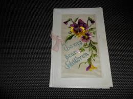 Carte Brodée ( 63 )  Geborduurde Kaart  ( Pas Une Carte Postale , Carte De Voeux ) - Brodées