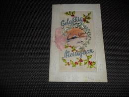 Carte Brodée ( 70 )  Geborduurde Kaart  ( Pas Une Carte Postale , Carte De Voeux ) - Embroidered