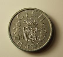 Spain 100 Pesetas 1985 - [ 5] 1949-… : Kingdom