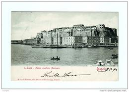 NAPOLI S.LUCIA NUOVO QUARTIERE MARINARO VIAG. 1901 Timbro Portalettere - Napoli