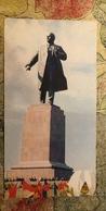 Uzbekistan. Tashkent. Lenin Monument 1980s - Old USSR Postcard - Monuments