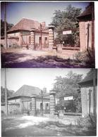 CHATEAU D'AIGREPAN -SCOUTS DE FRANCE à CHATEL DE NEUVRE 2 Photos Originales 1967-COMBIER CIM à MACON Photo DE JONGHE - Places