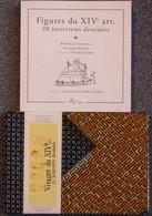 Beatrice Giudecelli - France Dumas - Lot De 2 Livres - Paris XIV - Tirage 400ex Fait Main + Autographe Envoi Dedicace - Livres Dédicacés