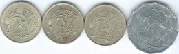 Cyprus - 1983 - ½ Cent (KM52) 1 Cent - 1983 (KM53.1) 1985 (KM53.2) & 2004 (KM53.3) - Cyprus
