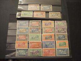 SENEGAL - 1914/27 INDIGENI, INSIEME DI 25 VALORI - NUOVI(+) - Senegal (1887-1944)