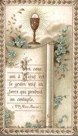 CHROMO IMAGE RELIGIEUSE SOUVENIR DE PREMIERE COMMUNION - Devotieprenten