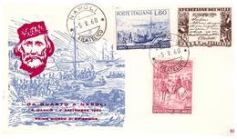Fdc ReRu: SPEDIZIONE MILLE (1960); No Viaggiata; AF_Napoli - F.D.C.