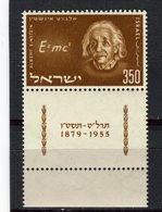 ISRAEL - Y&T N° 110** - Albert Einstein - Israel