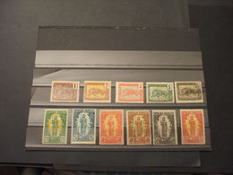CONGO - 1900/4 PANTERA/DONNA,  INSIEME DI 11 VALORI - NUOVI(+) - Congo Francese (1891-1960)