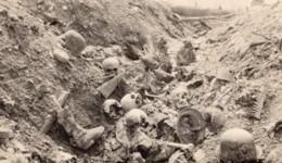 France WWI Cranes Cadavres Dans Une Tranchee Ancienne Photo 1914-1918 - Oorlog, Militair