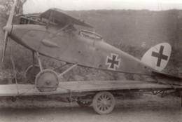 France WWI Aviation Militaire Monoplan Aile Haute Pfalz? Ancienne Photo 1914-1918 - Guerra, Militares