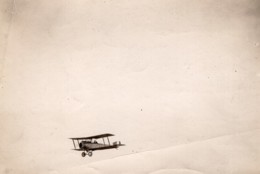 France WWI Aviation Militaire Biplan Nieuport Ou Sopwith? Ancienne Photo 1914-1918 - War, Military