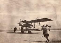 France WWI Aviation Militaire Biplan Farman Ou Voisin? Ancienne Photo 1914-1918 - Guerra, Militares