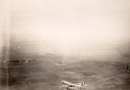 France WWI Aviation Militaire Biplan Nieuport Ou Sopwith? Ancienne Photo Aerienne 1914-1918 - War, Military