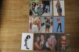 M-o 292 / Lot De 10 Photos - Spice Girls Dont,Victoria Beckham-Mélanie Ghisolm-Mélanie Brown-Emma Bunton-Gert Halliwell - Cartes Postales
