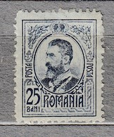 ROMANIA 1908 MLH(**/*) Mi 215 #24360 - 1881-1918: Charles Ier