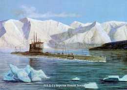 D-2 Submarine, Novaya Zemlya Island. - Sous-marins